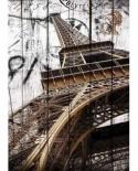 Puzzle Gold Puzzle - Vintage Eiffel Tower, 2000 piese (Gold-Puzzle-61451)