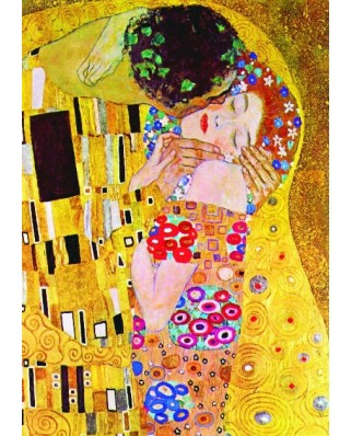 Puzzle Gold Puzzle - Gustav Klimt: The Kiss, 1.000 piese (60614)