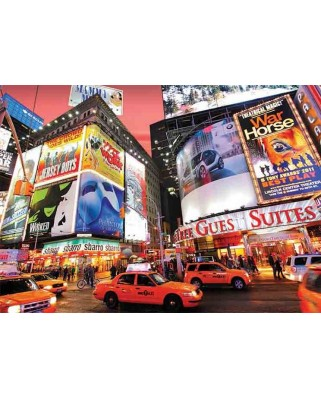 Puzzle Gold Puzzle - Broadway, Times Square, NY, 1500 piese (Gold-Puzzle-61567)