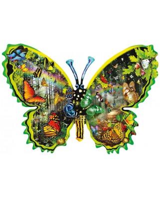 Puzzle contur SunsOut - Lori Schory: Butterfly Migration, 1000 piese (Sunsout-97035)