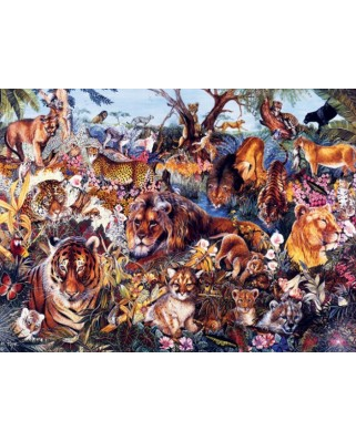 Puzzle SunsOut - Animal Fantasia, 300 piese XXL (Sunsout-50078)