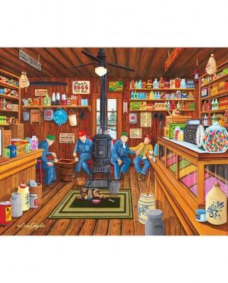 Puzzle SunsOut - Don Engler: Old Friends, 300 piese XXL (Sunsout-60322)