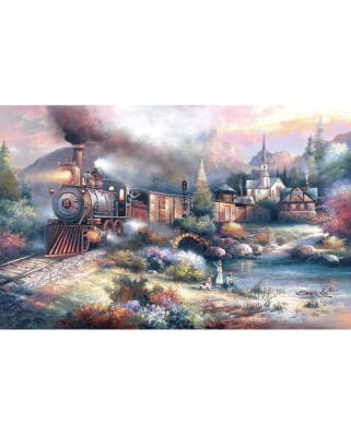 Puzzle SunsOut - James Lee: Maryland Mountain Express, 1.000 piese (Sunsout-18014)