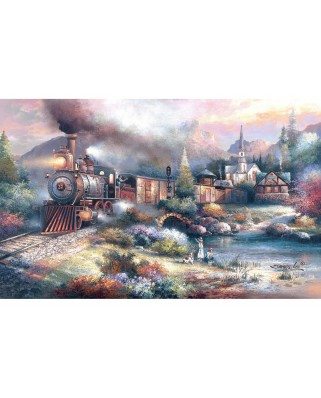 Puzzle SunsOut - James Lee: Maryland Mountain Express, 300 piese XXL (Sunsout-18008)
