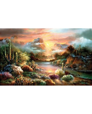 Puzzle SunsOut - James Lee: Sunset Splendor, 300 piese XXL (Sunsout-18002)