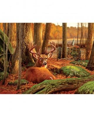 Puzzle SunsOut - Where Sleeping Deer Lie, 500 piese (Sunsout-50133)