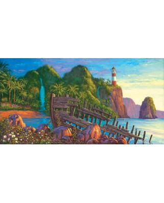 Puzzle SunsOut - Wil Cormier: Paradise Cove, 500 piese (Sunsout-20131)