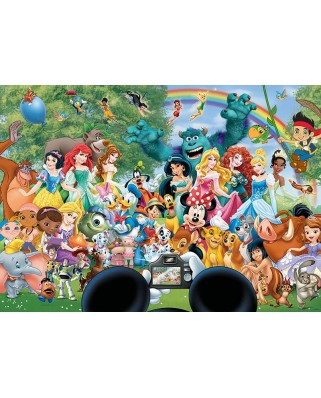 Puzzle Educa - The Marvellous World Of Disney II, 1.000 piese, include lipici (16297)
