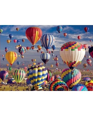 Puzzle Educa - Baloons, 1500 piese, include lipici (17977)