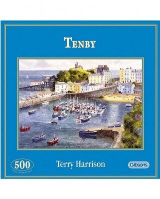 Puzzle Gibsons - Tenby, Wales, 500 piese (9025)