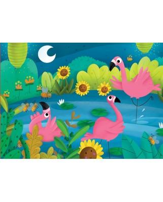 Puzzle Educa - Flamingo, 48 piese (18073)