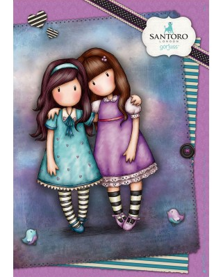 Puzzle Educa - Gorjuss - Friends Walk Together, 100 piese (18090)