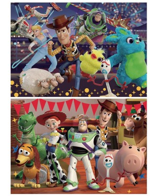 Puzzle Educa - Toy Story 4, 2x100 piese (18107)