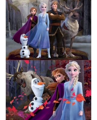 Puzzle Educa - Frozen 2, 2x100 piese (18111)