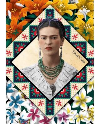 Puzzle Educa - Frida Kahlo, 500 piese, include lipici (18483)