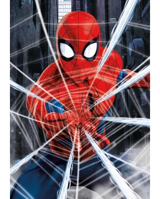 Puzzle Educa - Spider-Man, 500 piese, include lipici (18486)