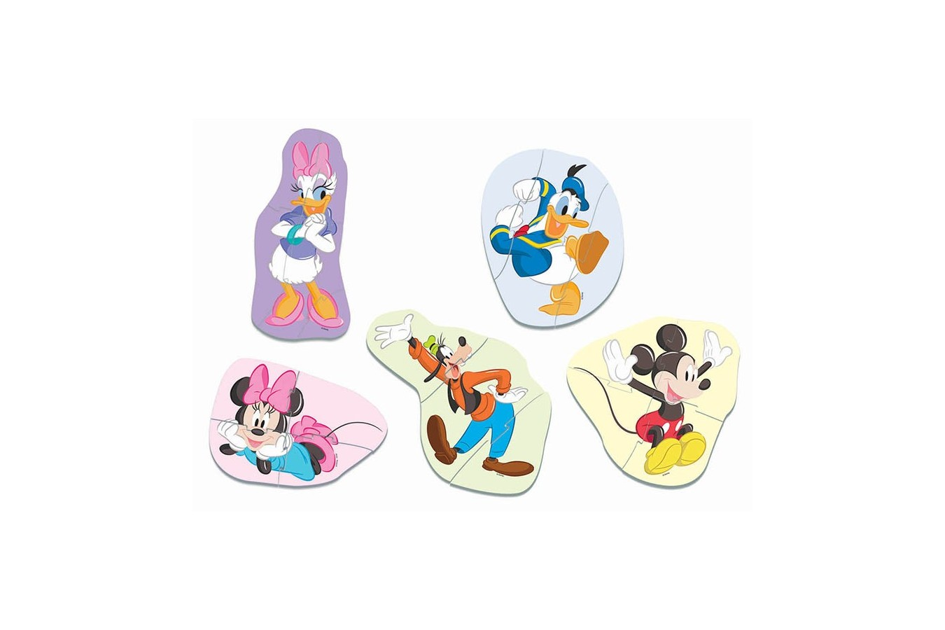 Puzzle Educa - Baby Mickey And Friends No Babys , 3/3/4/4/5 piese (18590)