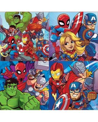 Puzzle Educa - Marvel Super Heroe Adventures, 12/16/20/25 piese (18647)
