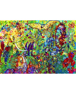 Puzzle Bluebird - Sally Rich: The Rainforest, 1500 piese (70409)