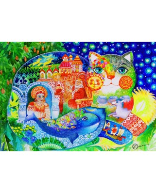 Puzzle Bluebird - Russian Tale, 1500 piese (70411)
