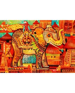 Puzzle 1500 piese - Africa (Bluebird-Puzzle-70413)