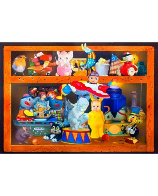 Puzzle Bluebird - Crowded House, 1.000 piese (70421)