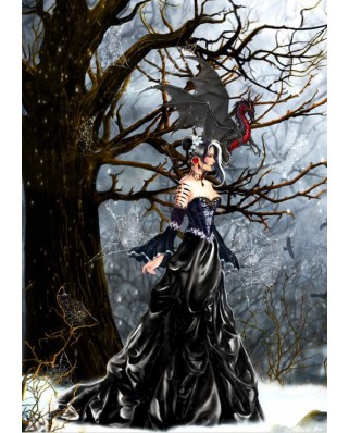 Puzzle Bluebird - Nene Thomas: Queen of Shadows, 1.000 piese (70424)