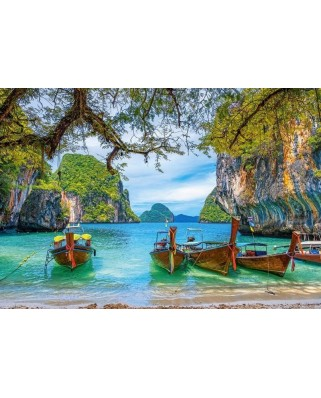 Puzzle Castorland - Beautiful Bay in Thailand, 1500 piese (151936)