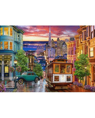 Puzzle Castorland - San Francisco Trolley, 500 piese (53391)