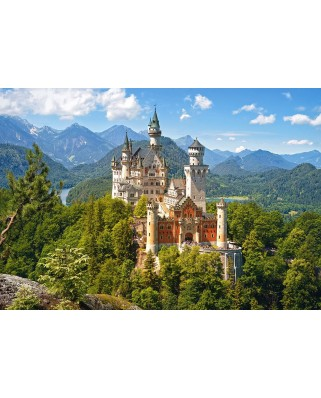 Puzzle Castorland - View of the Neuschwanstein Castle, 500 piese (53544)