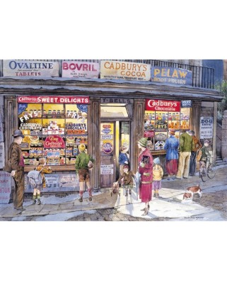Puzzle Gibsons - The Corner Store, 500 piese (928)