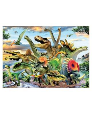 Puzzle Educa - Dinosaurs, 500 piese (17961)