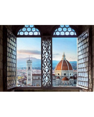 Puzzle Educa - Views of Florence, Italy, 1.000 piese (18460)