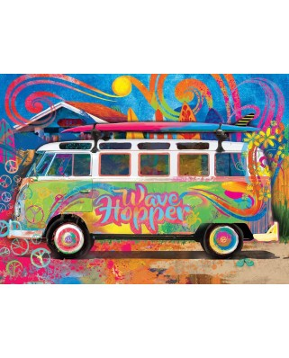 Puzzle Eurographics - Edward Hopper: VW Wave , 550 piese (8551-5561)