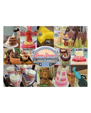 Puzzle Gibsons - The Great British Bake Off - Show Stopper, 250 piese (61411)