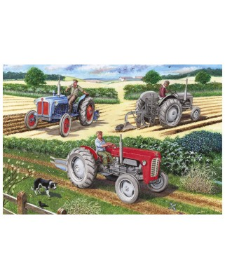 Puzzle Gibsons - The Ploughing Match, 500 piese (65084)