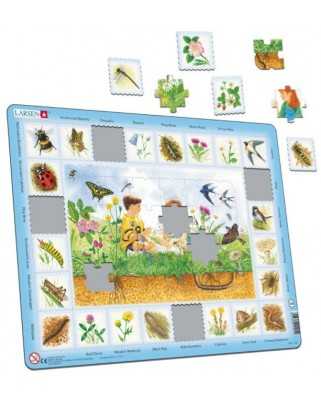Puzzle Larsen - Field (in Dutch), 48 piese (NA1-NL-HO)