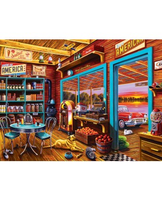 Puzzle Master Pieces - Henry's General Store, 750 piese (Master-Pieces-31828)