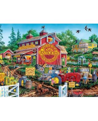 Puzzle Master Pieces - Antique Barn, 550 piese (Master-Pieces-31931)