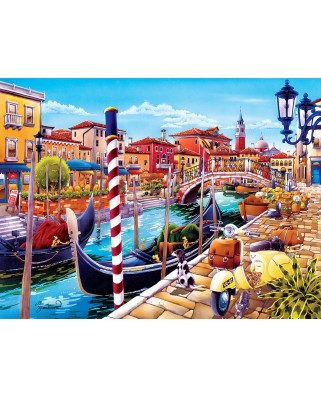 Puzzle Master Pieces - Venice, 550 piese (Master-Pieces-31976)
