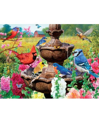 Puzzle fosforescent Master Pieces - Garden of Song, 550 piese (Master-Pieces-31983)