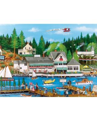 Puzzle Master Pieces - Roche Harbor, 750 piese (Master-Pieces-31986)
