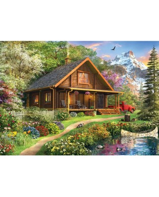 Puzzle Master Pieces - Dominic Davison: Mountain Retreat, 1000 piese (Master-Pieces-71750)
