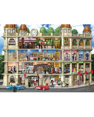 Puzzle Master Pieces - Fields Department Store, 1000 piese (Master-Pieces-71838)