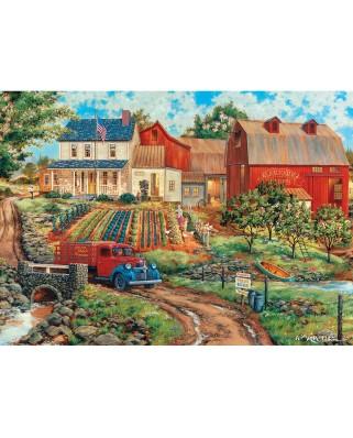 Puzzle Master Pieces - Grandma's Garden, 1000 piese (Master-Pieces-71921)