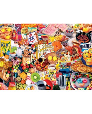 Puzzle Master Pieces - Flashback - Breakfast of Champions, 1000 piese (Master-Pieces-71949)