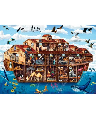 Puzzle Master Pieces - Noah's Ark, 1000 piese XXL (Master-Pieces-71963)