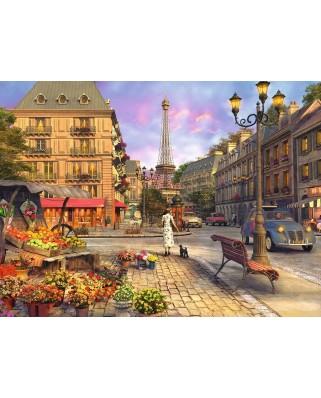 Puzzle Ravensburger - Dominic Davison: Plimbare De Seara, 500 piese (14683)