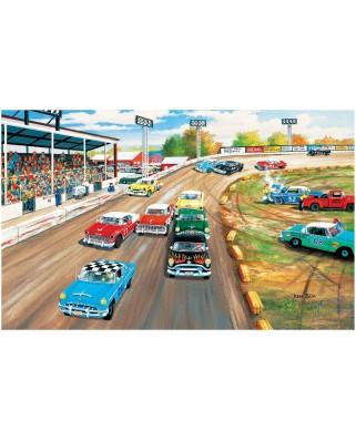 Puzzle SunsOut - Ken Zylla: Thunder Road+, 550 piese (Sunsout-39339)