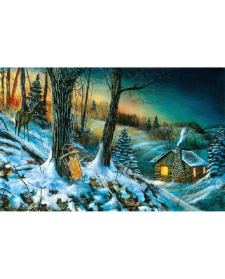 Puzzle SunsOut - Jim Hansel: Frozen Memories, 1000 piese (Sunsout-67328)